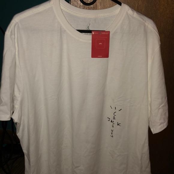 1f02aa3d9592d7 Cactus Jack x Jordan t-shirt